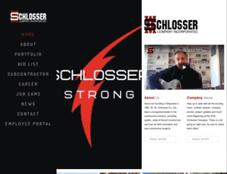 wmschlosser.com screenshot