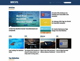 wmtips.com screenshot
