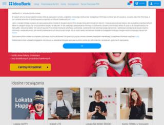 wnioski.ideabank.pl screenshot
