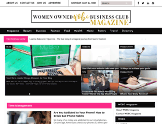 wobcmagazine.com screenshot