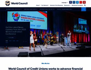 woccu.org screenshot