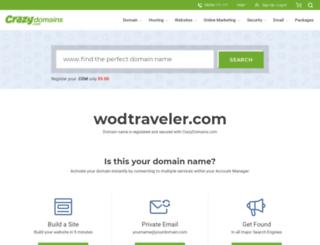 wodtraveler.com screenshot