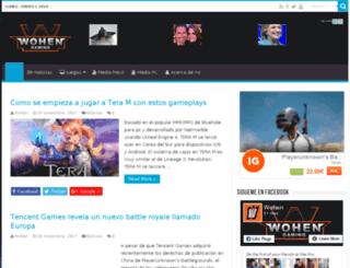 wohen.es screenshot