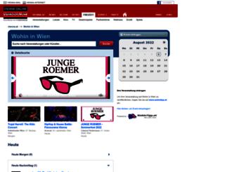 wohin.austria.com screenshot