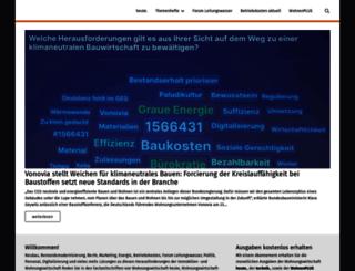 wohnungswirtschaft-heute.de screenshot