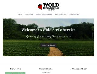 woldstrawberries.com screenshot