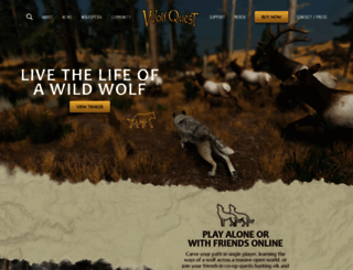 wolfquest.org screenshot