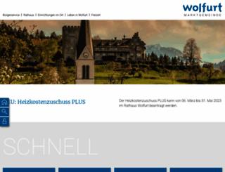 wolfurt.at screenshot