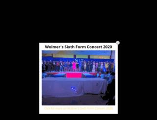 wolmers.org screenshot