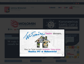 wolomin.org screenshot