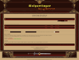 wolpertinger.die-seite.eu screenshot