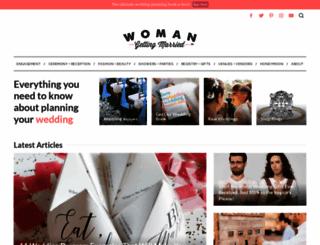 womangettingmarried.com screenshot