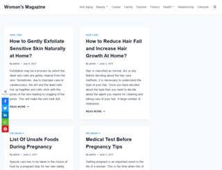 womansmagazine.net screenshot