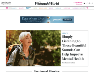 womansworldmag.com screenshot
