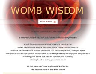 wombwisdom.me screenshot