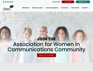 womcom.org screenshot