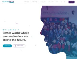 women-lead.org screenshot