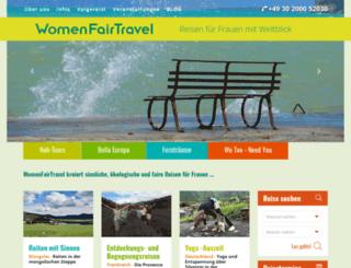 womenfairtravel.com screenshot