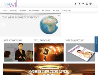 womenimpactinglives.org screenshot