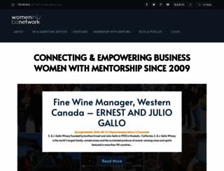 womeninbiznetwork.com screenshot