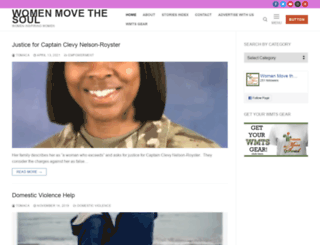 womenmovethesoul.com screenshot