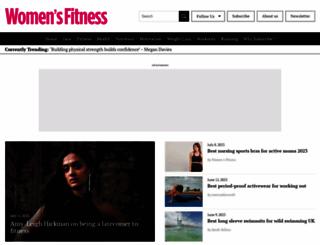 womensfitness.co.uk screenshot