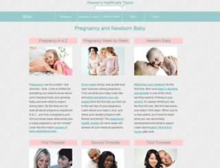 womenshealthcaretopics.com screenshot