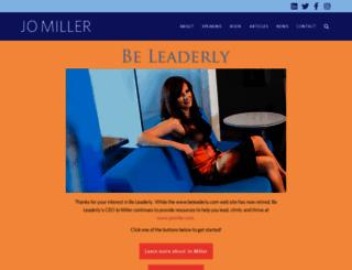 womensleadershipcoaching.com screenshot