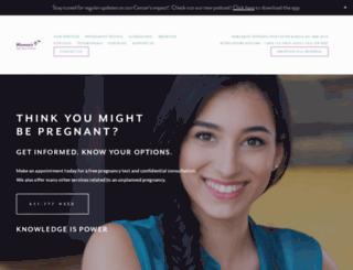 womenslifecarecenter.org screenshot