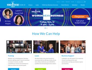 womenventure.org screenshot