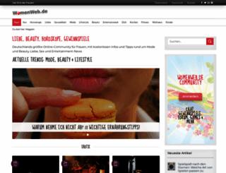 womenweb.de screenshot