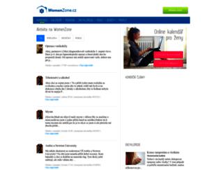 womenzone.cz screenshot