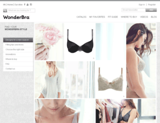 wonderbra.ca screenshot