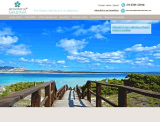 wonderfulsardinia.com screenshot