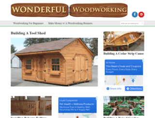 wonderfulwoodworking.com screenshot