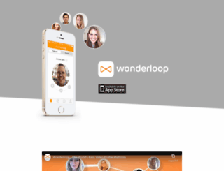 wonderloop.me screenshot