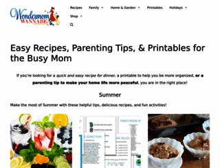wondermomwannabe.com screenshot