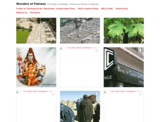 wondersofpakistan.wordpress.com screenshot