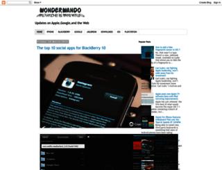 wonderwando.blogspot.ro screenshot