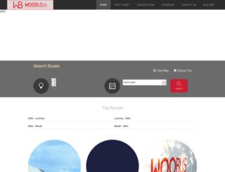 woobus.in screenshot