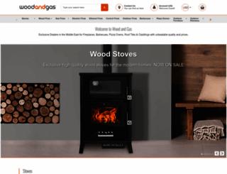 woodandgas.com screenshot
