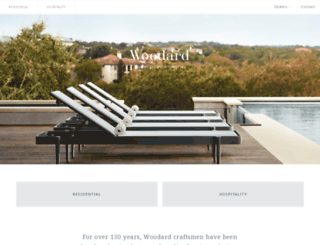 woodard-furniture.com screenshot