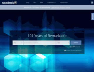 woodards.com.au screenshot