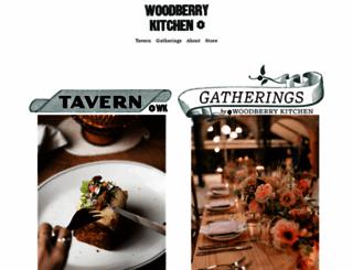 woodberrykitchen.com screenshot