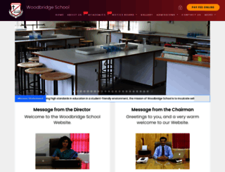 woodbridgeschool.co.in screenshot