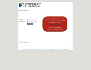 woodburyfinancialservices.net screenshot