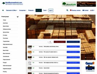 woodbusinessportal.com screenshot