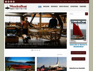 woodenboat.com screenshot