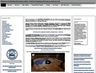 woodfloor-renovations.co.uk screenshot