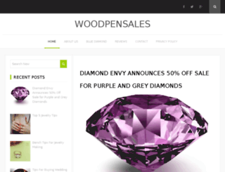 woodpensales.com screenshot